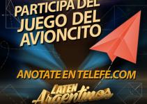 Participar en el Avioncito de Laten Argentinos
