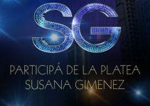 Anotarse a la tribuna de Susana Gimenez 2016