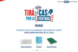 Promo Ayudín 2016 «Tira La Casa Por La Ventana»