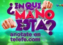 """Anotarse en """"¿En qué mano está?"""" de Telefe"""