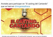 Casting del Cantando 2020: como anotarse